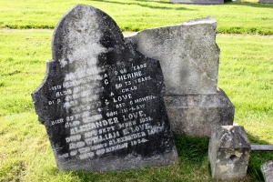 Chambers - Love Headstone