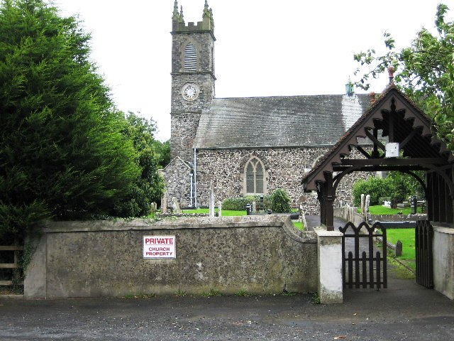St Aidan's  Church of Ireland Parish Church, Glenavy