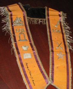 Thomas Murdock - The Sash My Great Grandfather Wore!