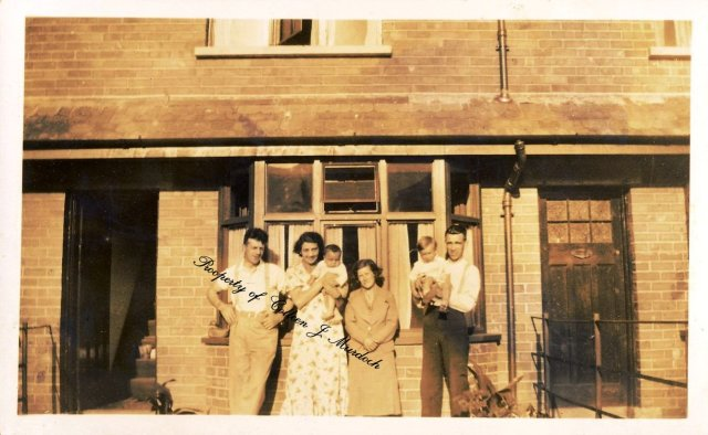 My father and grandparents (left) at Van Dyke Gardens Photo not to be used without prior consent from the author.