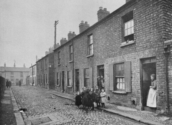 A snapshot in time... A Street scene from the same general area as 41 Moore Street; the Berry home.