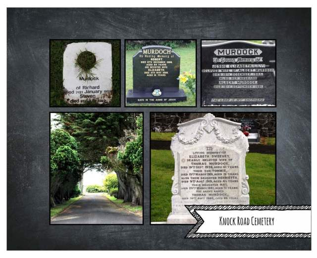 Knock Road Cemetery Murdoch/Murdock Graves