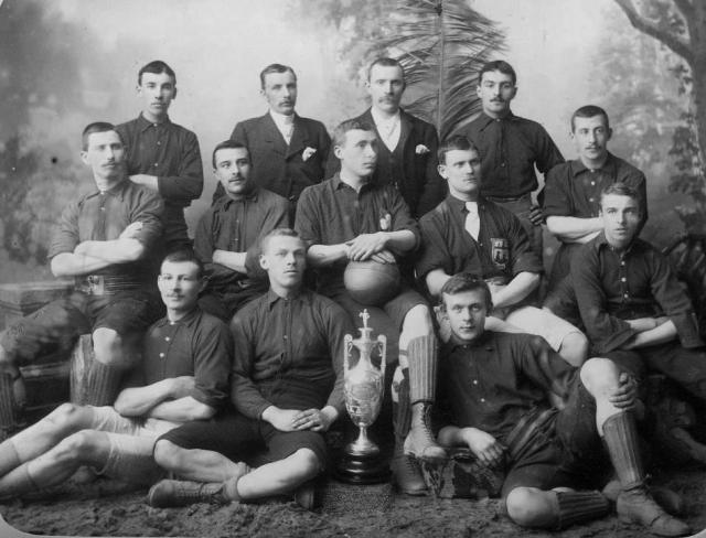 St, Columb's Court Swifts football Team 1892-1893.