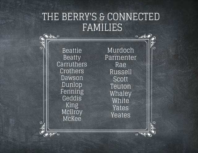 Berry & Connected Families