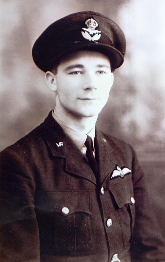 MORRISON, Flying Offr. (Pilot) Samuel Cecil -  115396. R.A.F. (V.R.).104 Sqdn. Prot. Sec. (Men's). Plot F. Coll.
