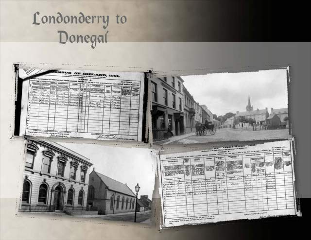 Londonderry to Donegal?