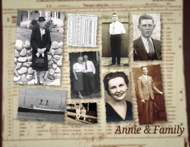 Annie Murdock McAleese & Family
