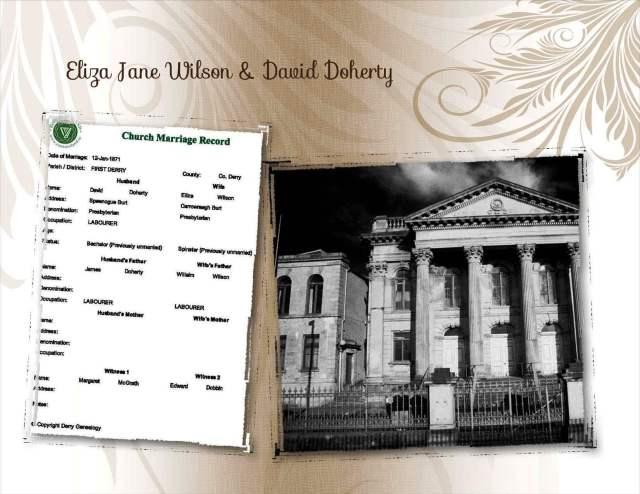 Eliza Jane Wilson & David Doherty